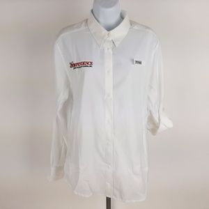Columbia PFG Women's Vintage Fishing Shirt Size La